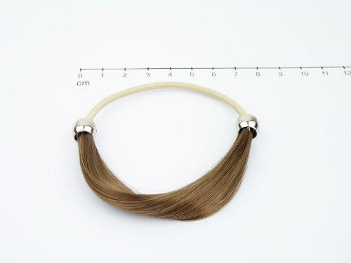 Unidas en Bel colour blanco y negro, Fashion anillo de la amistad de 'Marie', 4 - colour marrón