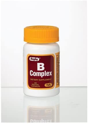 NEW before selling Vitamin B Fashionable complex dietary supplement ea - softgel 100 capsules