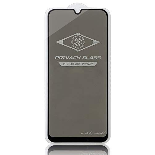 Winjun GGR for the Galaxy A50 Anti-Glare volledig scherm van gehard glas (zwart), blue
