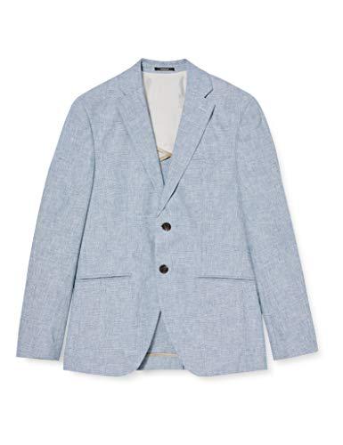 JACK & JONES Herren JPRBLAROCCO Blazer Business-Anzug Jacke, Light Blue, 52