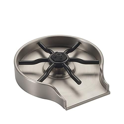 DELTA Glass Rinser for Kitchen Sinks, Kitchen Sink Accessories, Bar Glass Rinser, SpotShield Stainless GR150-SP