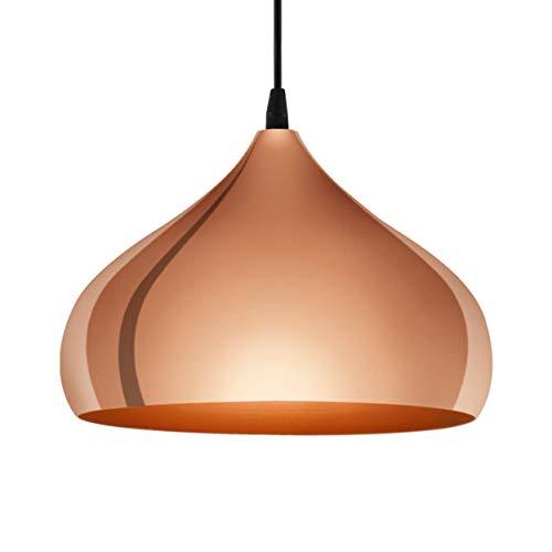 Eglo 49449–Lámpara de techo, acero, color bronce