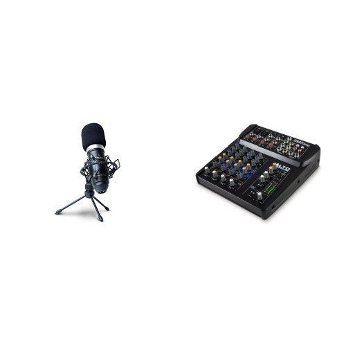 Marantz Professional MPM-1000 Kondensator Großmembranmikrofon mit Nieren-Charakteristik + Alto ZMX862 Professionelle Kompakter (6-Kanal Mischpult) Bundle