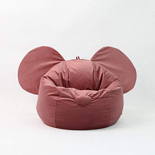 Bank GJDBBLY Kinderstoel Luie bank Zitzak Tatami Verwijderbaar meisje Jongensstoel Huis Binnen Zoals afgebeeld-4 Rode luie bank