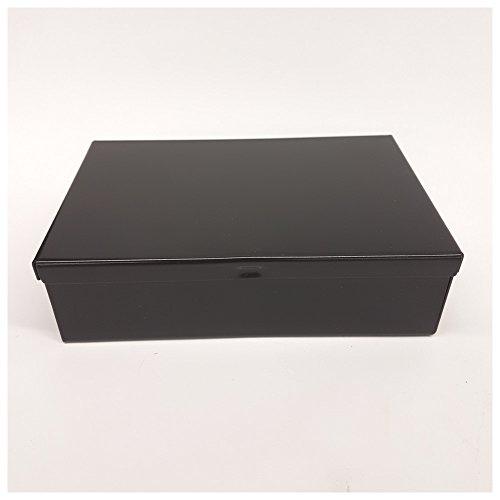 Dönges Metallkasten, 15,5 x 10,5 x 4,5 cm, schwarz