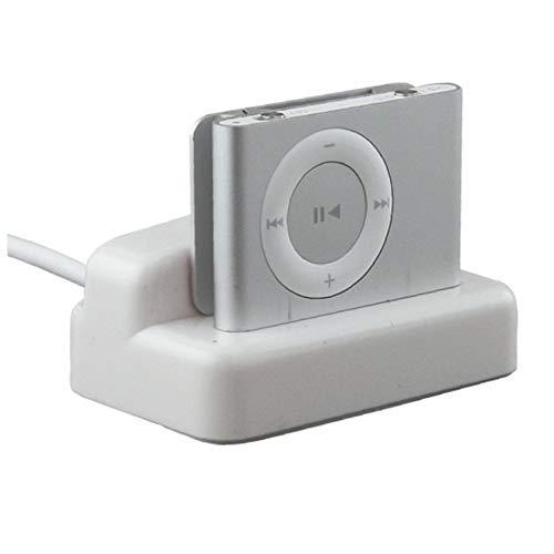 OMMO LEBEINDR Bargaincell USB HotSync y Carga de Escritorio del Cargador de la Horquilla del Muelle para Apple iPod Shuffle 2 Generación MP3 Playerfor Conveniencia