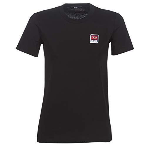 Diesel SILY ZE T-Shirts & Poloshirts Femmes Schwarz - L - T-Shirts