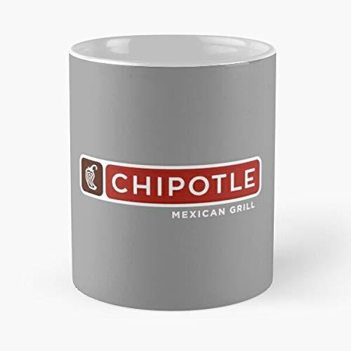 compare Food Mexican Operation Cuisine Grill Chipotle Organization Business Best Mug hält Hand 11oz aus weißer Marmorkeramik