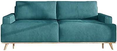 Amazon.com: AODAILIHB - Sofá de tela suave y moderno, sofá ...