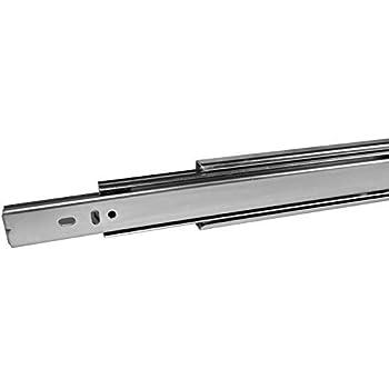 2 St/ück Vollausz/üge 500 mm mit 45 Kg Tragkraft Schubladenschiene Teleskopschiene von SO-TECH 1 Paar