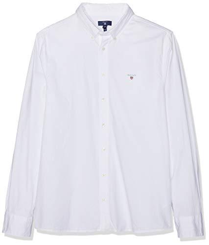 GANT Jungen Archive Oxford B.d Shirt Hemd, Weiß (White 110), 164 (Herstellergröße: 158/164)