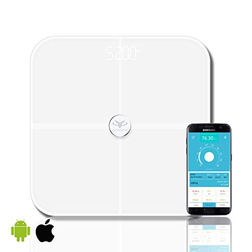 Actofit Body Fat Analyser Smart Scale with Complete Digital...