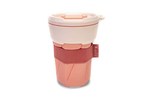 MuC My useful Cup® – Faltbarer Coffee-to-go Becher in versch. Farben Made in Germany | Reisebecher aus Silikon | Mehrwegbecher für unterwegs | recycelbarer Kunststoff & Silikon | Kaffeebecher 350ml
