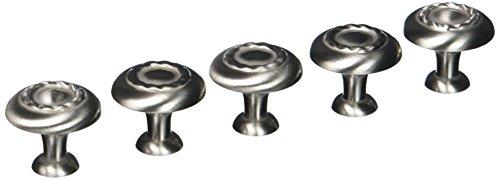 Amerock BP1585-G10 Inspirations Satin Nickel Rope Cabinet Hardware Knob - 1-1/4