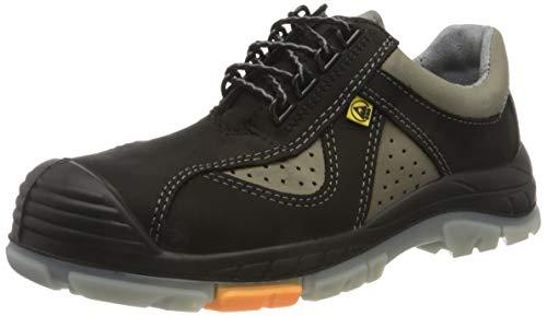Ppo PP BPPOP703_41 Ppo Composite Sicherheit Niedrig Schuhe Schützen vor ESD Bewirken, Schwarz-Grau, 41 Größe thumbnail