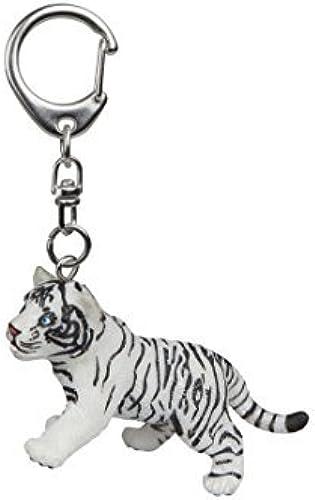 diseños exclusivos Papo Papo Papo Tiger Cub Keychain, blanco by Papo  lo último