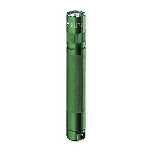 MagLite Solitaire AAA Incandescent. Flashlight Green K3A396 Blister