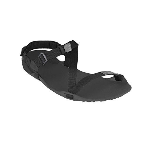 Xero Shoes Z-Trek Damen-Sandalen, minimalistisch, Barfuß-inspiriert, für Wandern, Trail, Laufen, Walking, Schwarz (Anthrazit/Kohle Schwarz), 39 EU