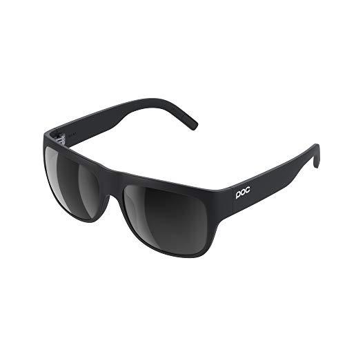 POC, Occhiali da Sole polarizzati Want, Nero (Uranium Black), Standard