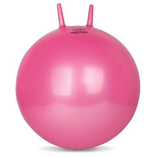 TangMengYun Verdicken Fitness Ball Explosionsgeschützte Horn Kick Ball 65 cm Yoga Ball Griff Ball Erwachsene Große Aufblasbare Kugel (Color : Pink)