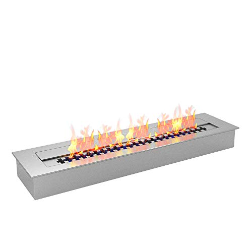 Regal Flame PRO 24 Inch Bio-Ethanol Fireplace Burner Insert 4.8 Liter