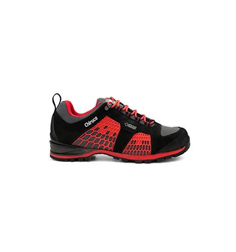 Chiruca Zapatillas Storm - Negra y roja, 41