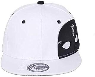 قبعة بيسبول بستايل كوريا لرقص الهيب هوب في الشارع، ابيض للرجال BH19-2