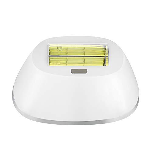 Depiladora de luz pulsada Cabezal de la lámpara, 400000 pulsaciones profesionales permanentes para cuerpo, cara, axilas en el hogar o viaje