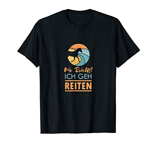 Reiter | Pferd | Reiten | Reitsport T-Shirt
