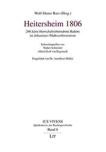 Heitersheim 1806