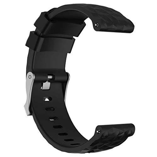 RipengPI - Correa de repuesto de silicona para Suunto Spartan Sport Wrist HR Baro