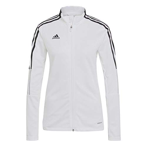 adidas GM7302 TIRO21 TK JKT W Jacket Womens White 2XL