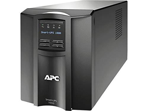 APC Smart-UPS SMT, SMT1000I, Sistema de alimentación ininterrumpida, SAI, 1000 VA, Color Negro