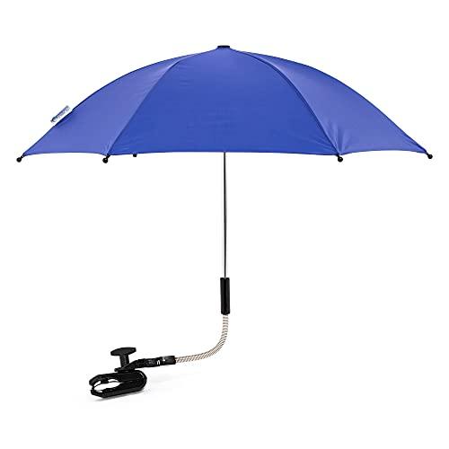 Baby Parasol Sun Umbrella Shade Maker Canopy for Pushchair Pram Buggy - Blue