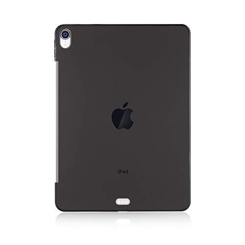 Compatibele Vervangings Schokbestendig TPU beschermhoes for de iPad Pro 12,9 inch (2018) Accessoire (Color : Transparent black)