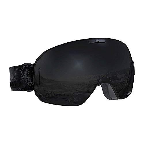 Salomon S/MAX Unisex OSFA Skiing Snowboarding Goggles w/ 1 Extra Lens, Black
