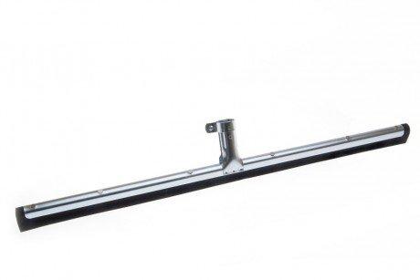 BawiTec Wasserschieber 35cm 60cm Doppellippe Schwammgummi Abzieher Metall (60cm)