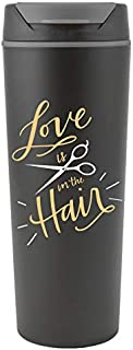 Love is in the Hair Travel Cup Coffee Mug for Hair Stylists