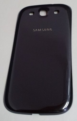 Akkudeckel - SAMSUNG Galaxy S3 GT-I9300, S3 LTE / GT-I9305 - Navi-Blau