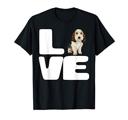 Amo A Mi Perro Grifón Vandeano Basset Pequeño Camiseta