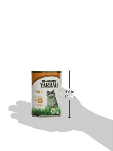 YARRAH Bio Katzenfutter Pate mit Huhn 400 g, 12er Pack (12 x 400 g) - 5