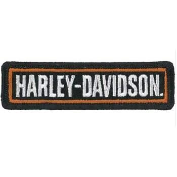 /brod/ée pour moto//motard Patch Petite rectangulaire Harley Davidson/