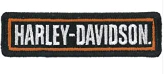 MAREL Patch Harley Davidson Patch thermocollant brod/é 9 x 2,5 cm R/éplique 1302