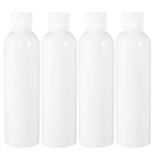 Beaupretty 4 Stück Reiseflaschen Reisebehälter Tube Reisegröße Toilettenartikel Behälter Make-Up Flasche für Handseife Shampoo Flüssigkeiten Lotion 500Ml
