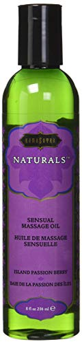 Kama Sutra Naturals Massage Oil Island Passion Berry, 8 Fluid Ounce