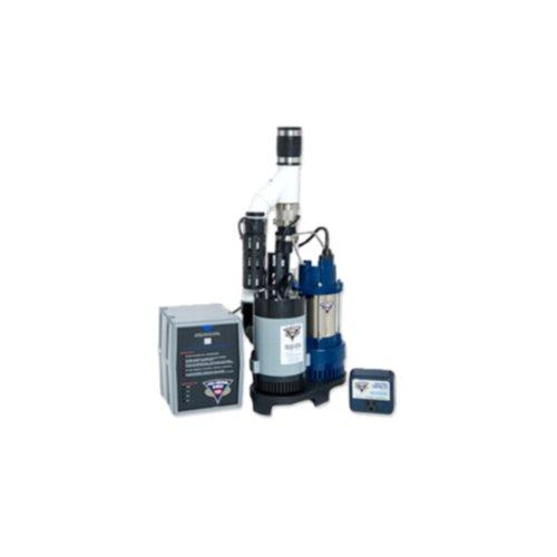 Glentronics, Inc. PS-C33 PHCC 3000 Gallons Per Hour Pro Series 1/3 HP Combination Sump Pump System