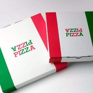 【業務用】日本製 ピザボックス|ピザケース|ピザ箱 【14インチ(約36cm)】 ピザパッケージ 50枚入り