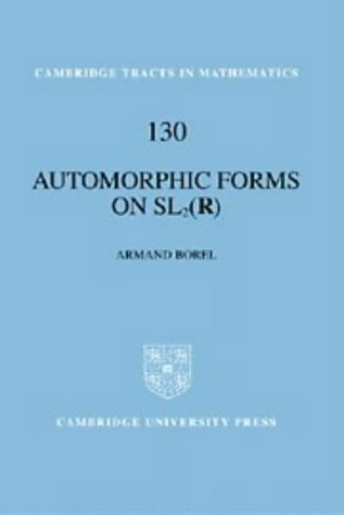 Automorphic Forms on Sl2 (R): 130