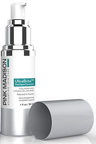 UltraBrite Dark Spot Corrector Best Age Spot Remover for Face Hands Body 1 oz
