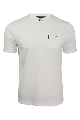 Ben Sherman Herren T-Shirt (Weiß) XXL